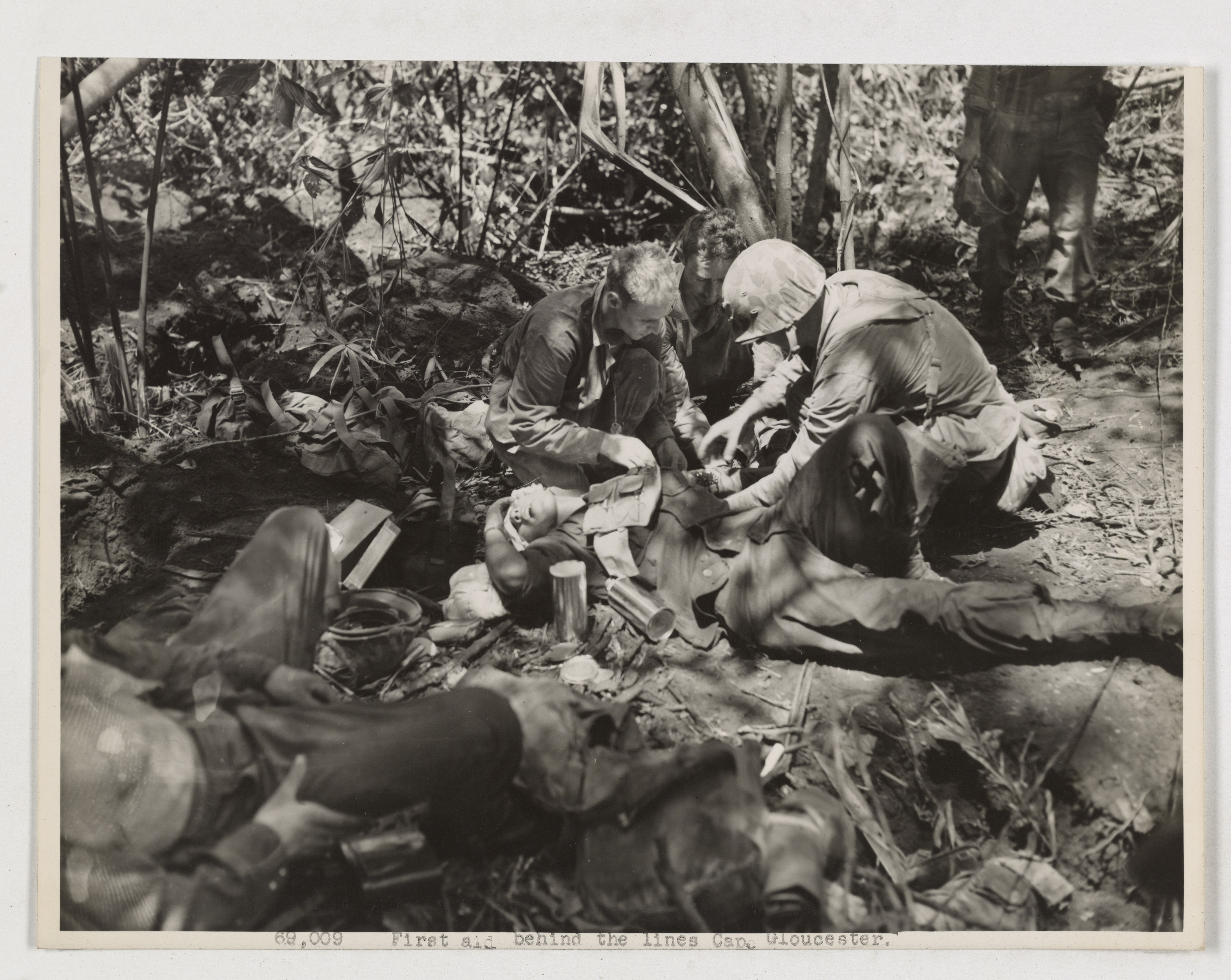 World War II – Wounded