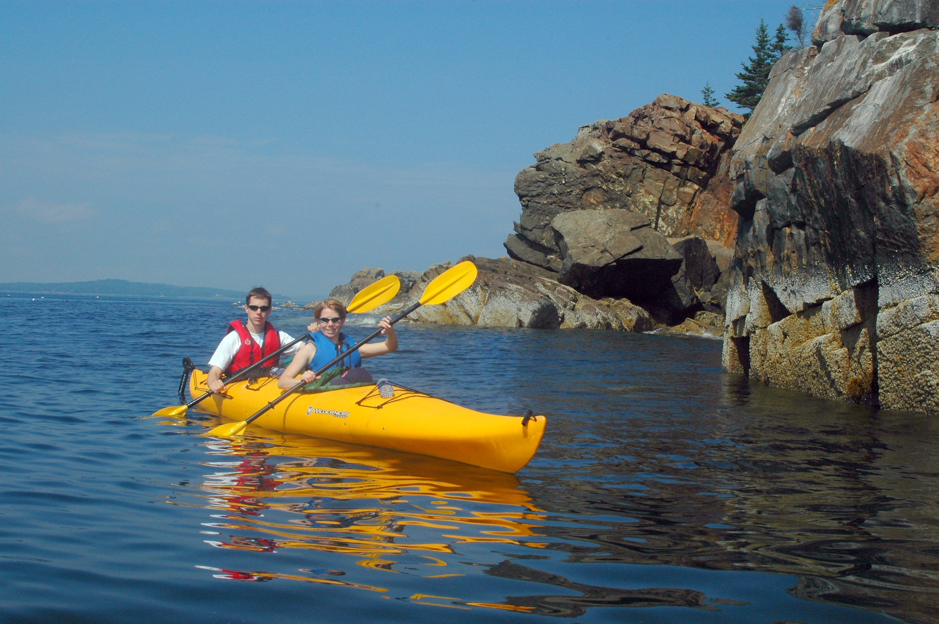 Sea Kayaking credit Coastal Kayaking Tours