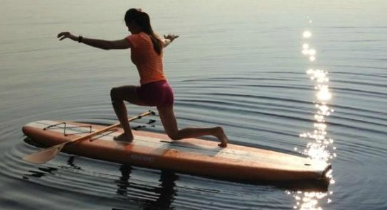 SUP Paddleboarding credit Amy Young