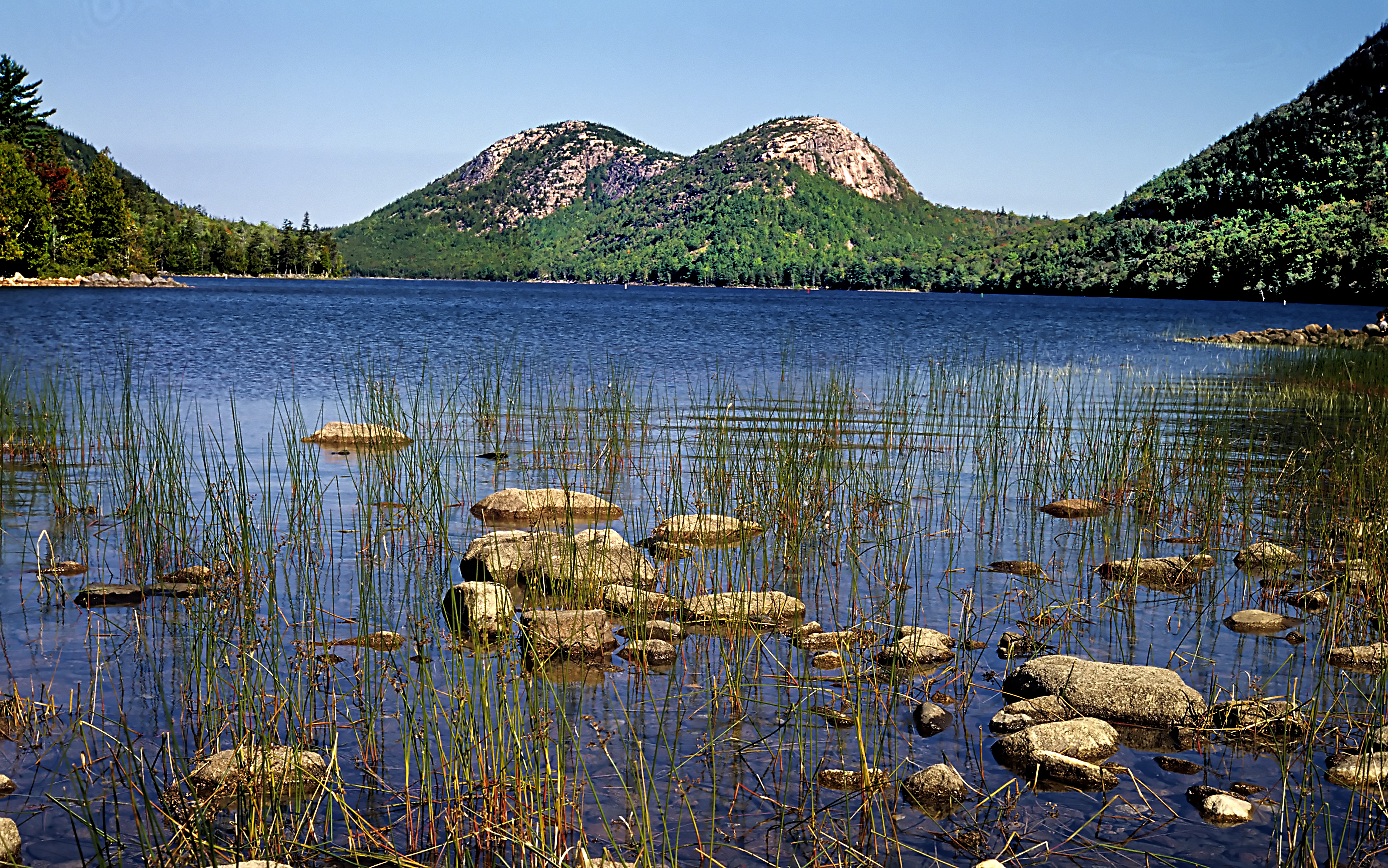 Jordan Pond. Credit: Bar Harbor Chamber of Commerce