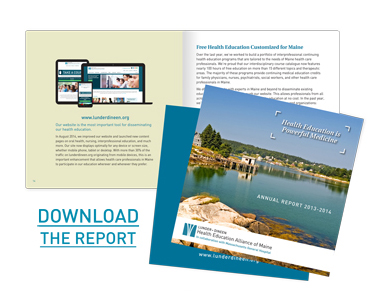 Download Lunder-Dineen's 2013-2014 Annual Report