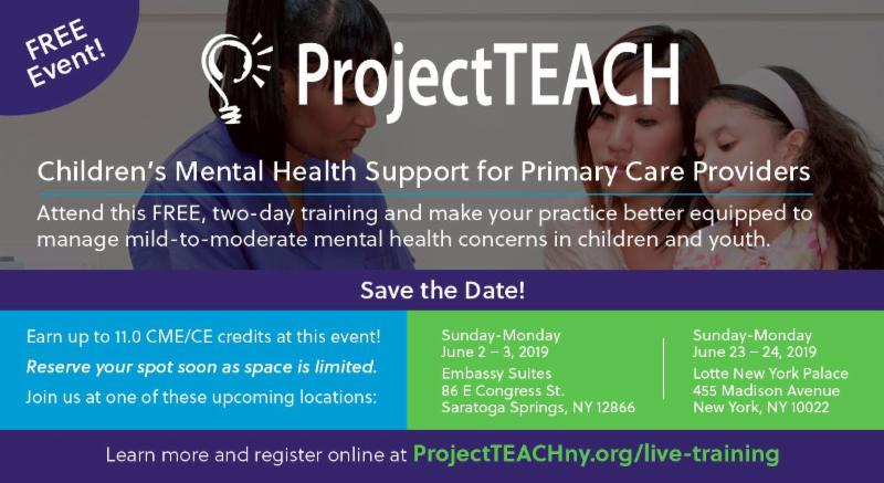 Project TEACH Save the Date