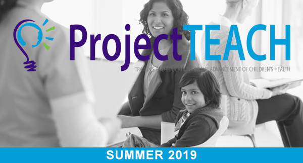 Project TEACH E-newsletter for May 2019