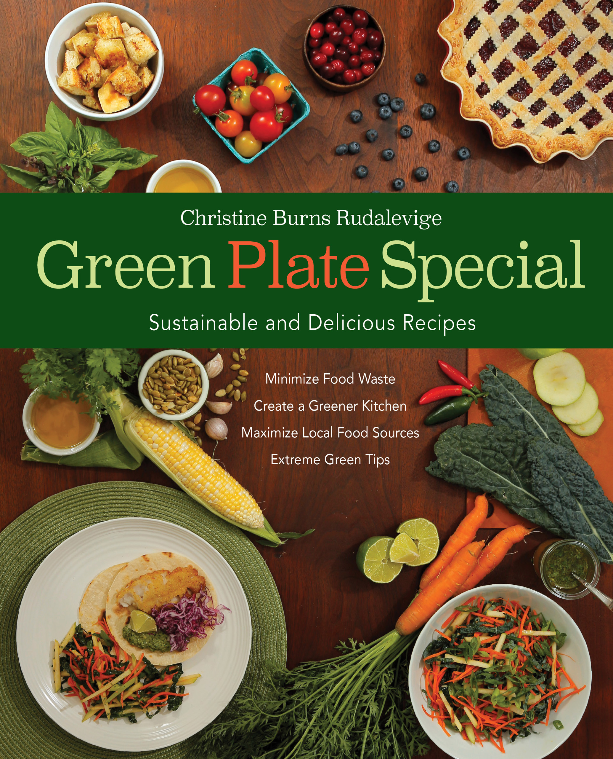 Green Plate Special cookbook by Christine Burns Rudalevige