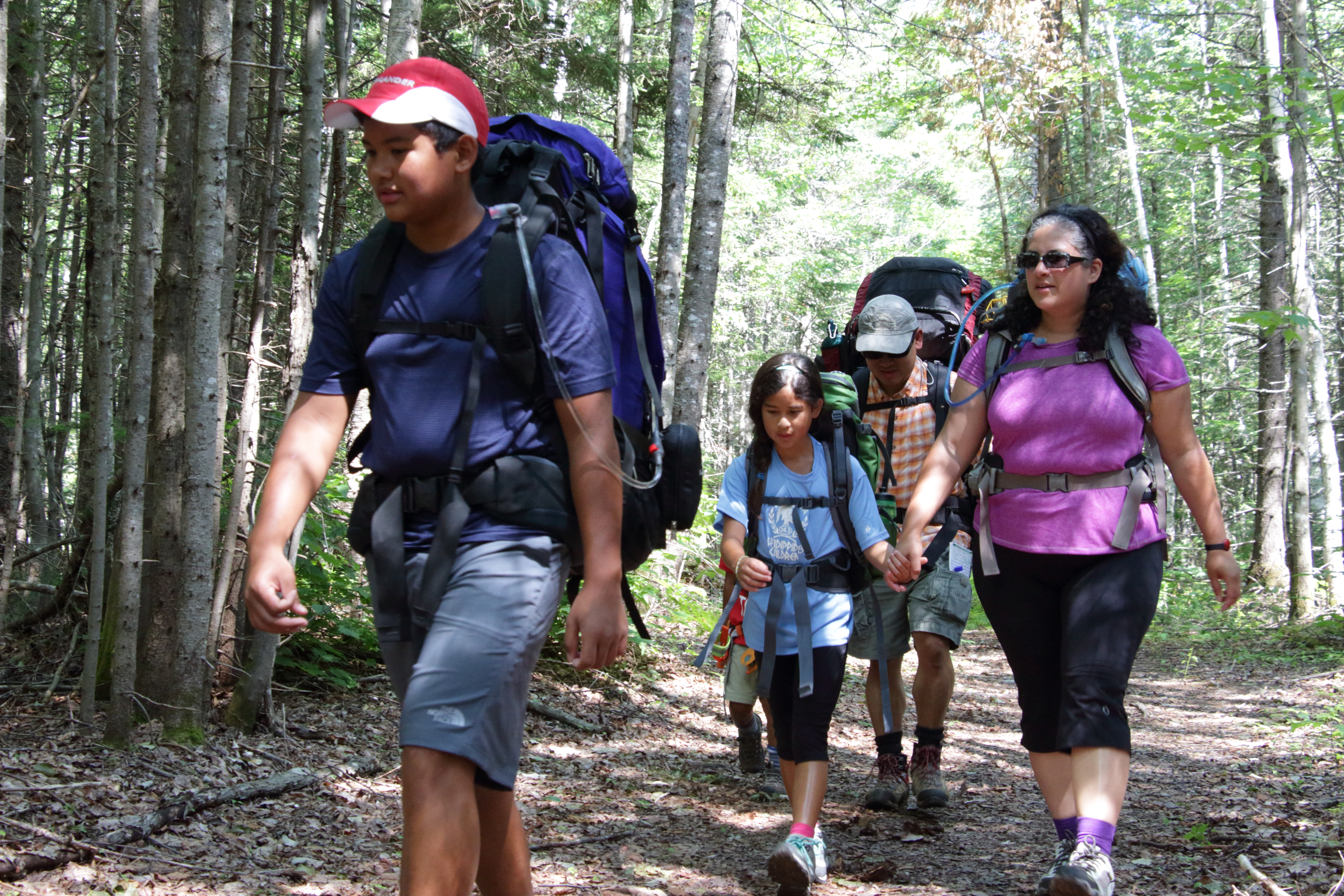 Enjoy a family hike with Maine Huts & Trails