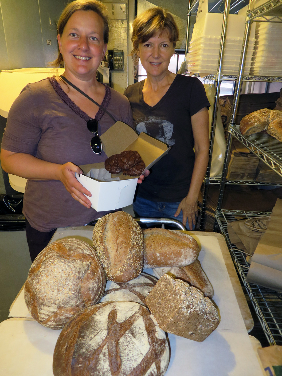Amber Lambke, left, and Alison Pray  at Standard Baking Co.