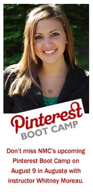 Whitney Moreau, Pinterest Boot Camp instructor