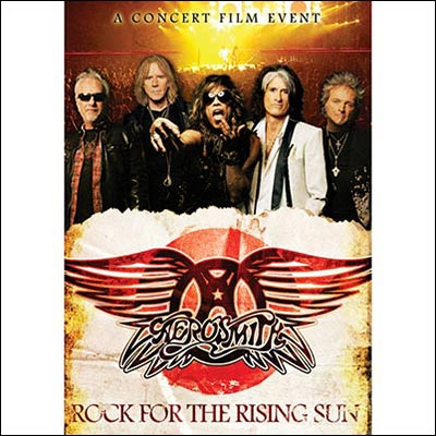 Rock For The Rising Sun (DVD/Blu-Ray) by Aerosmith