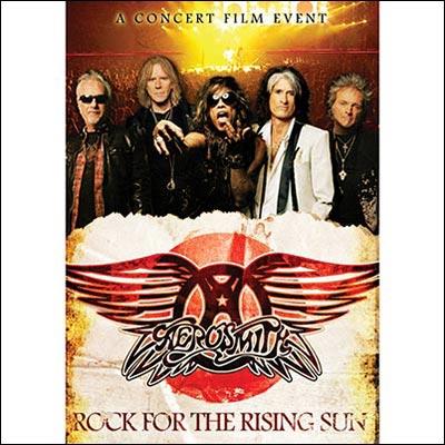 Rock For The Rising Sun (DVD/Blu-Ray) by Aerosmith