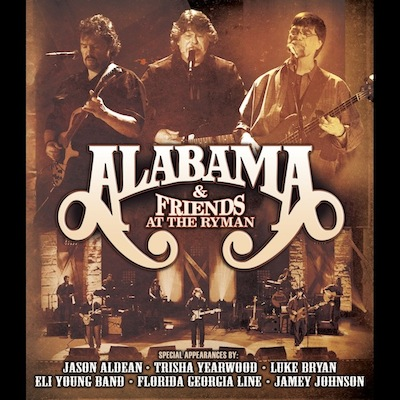 At The Ryman by Alabama & Friends