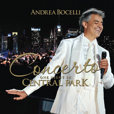 Andrea Bocelli - Concerto, One Night In Central Park (CD/DVD)