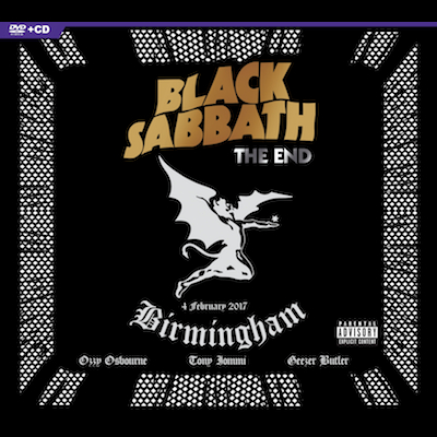 Black Sabbath - The End Of The End (CD+DVD)
