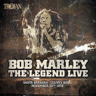 Bob Marley & The Wailers - The Legend Live In Santa Barbara (Vinyl)