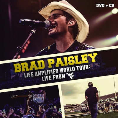Brad Paisley - Life Amplified World Tour: Live From WVU (DVD+CD)