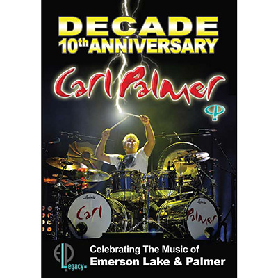 Decade (DVD) by Carl Palmer