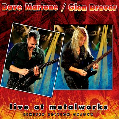 Live At Metalworks (CD/DVD) by Dave Martone / Glen Drover