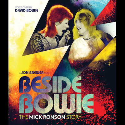 David Bowie - Beside Bowie: The Mick Ronson Story (DVD)