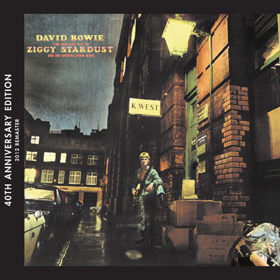 David Bowie - The Rise And Fall Of Ziggy Stardust And The Spiders From Mars: 40th Anniversary Edition