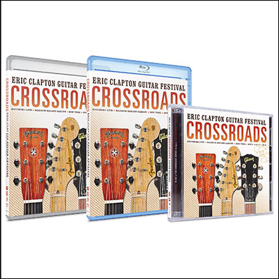 Crossroads Guitar Festival 2013 (CD & DVD/Blu-ray) by Eric Clapton