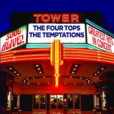 The Four Tops & The Temptations - Soul Alive! Greatest Hits In Concert