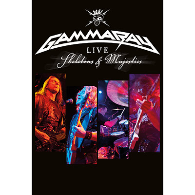Skeletons & Majesties Live (DVD) by Gamma Ray