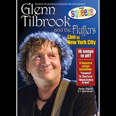 Glenn Tilbrook & The Fluffers - Live In New York City (DVD)