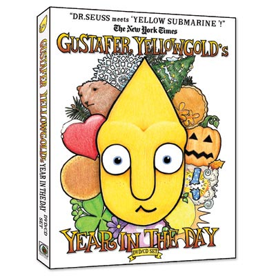 Gustafer Yellowgold - Gustafer Yellowgold's Year In The Day (DVD/CD)