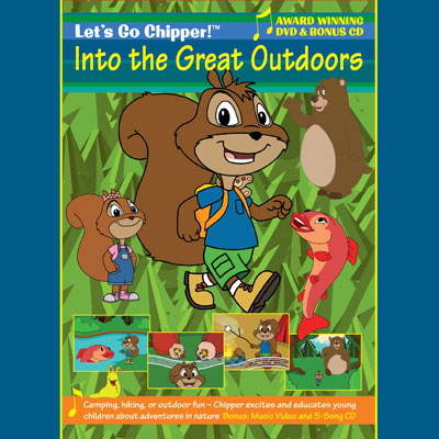 Into The Great Outdoors - Let's Go Chipper! Into The Great Outdoors (DVD)