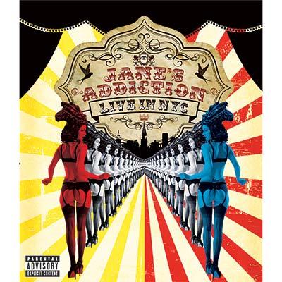 Jane's Addiction - Live In NYC (CD/DVD/Blu-ray)