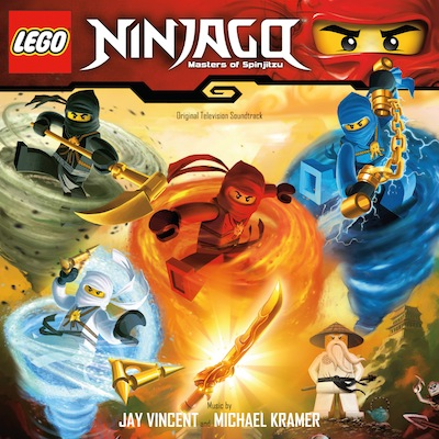 Ninjago: Masters of Spinjitzu by Jay Vincent and Michael Kramer