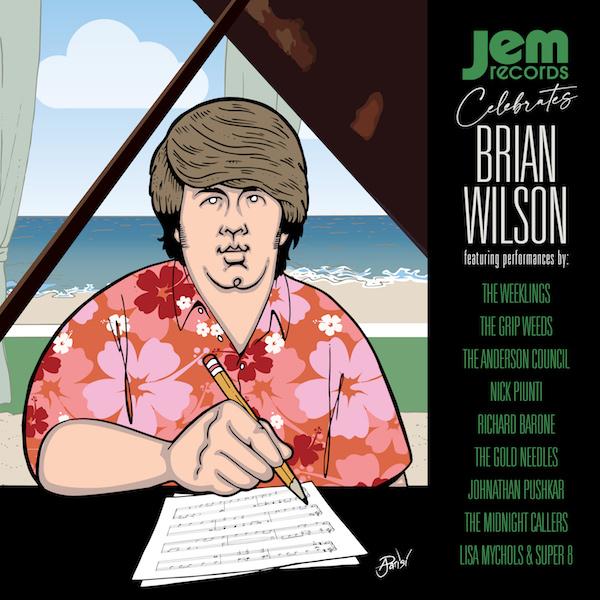 Various - Jem Records Celebrates Brian Wilson