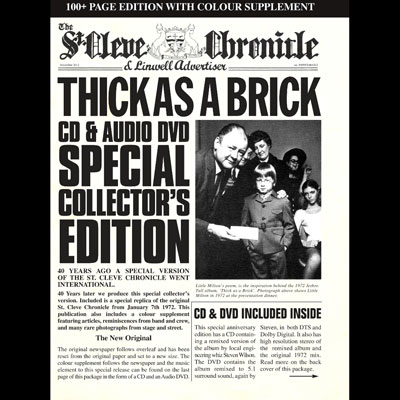 Thick As A Brick (40th Anniversary Edition) by Jethro Tull