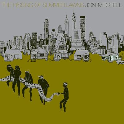 Joni Mitchell - The Hissing of Summer Lawns (Vinyl)