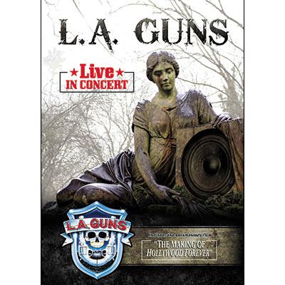 Live In Concert (DVD) by L.A. Guns