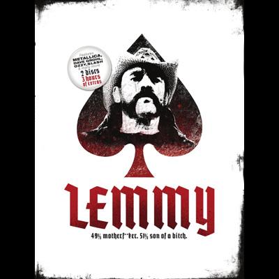 Lemmy - Lemmy: 49% Motherf**ker, 51% Son Of A Bitch (DVD)