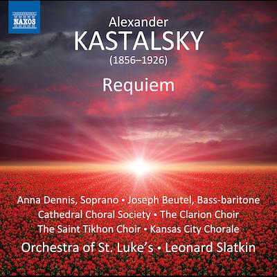 Leonard Slatkin, Orchestra Of St. Lukes + Vocalists - Kastalsky: Requiem For Fallen Brothers