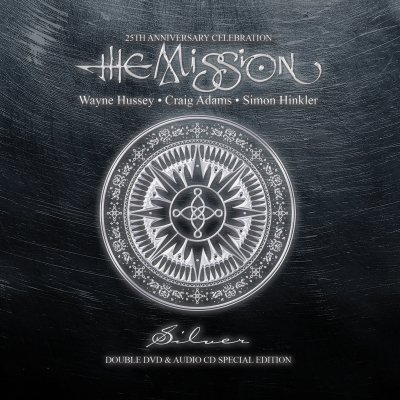 Silver (CD/DVD) by The Mission