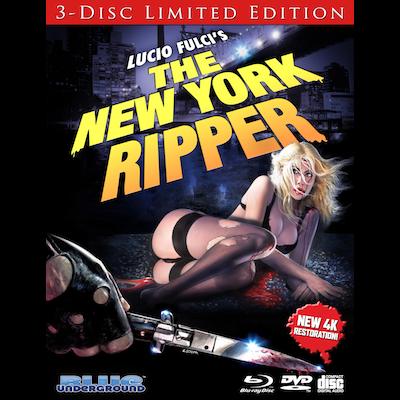 Lucio Fulci (Director) - The New York Ripper (Deluxe Blu-ray)