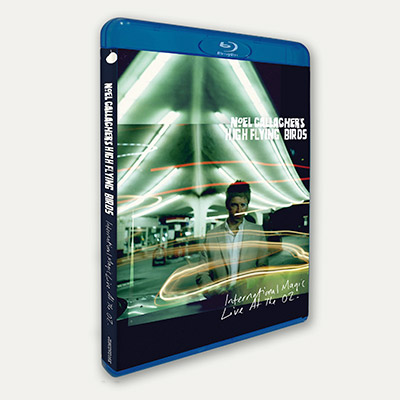 International Magic Live At The O2 (2DVD/Blu-Ray+CD) by Noel Gallagher's High Flying Birds