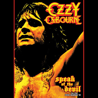 Speak Of The Devil (DVD/Blu-ray) by Ozzy Osbourne