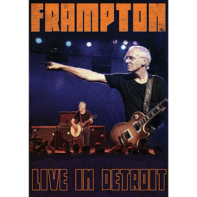Live In Detroit (DVD/Blu-ray) by Peter Frampton