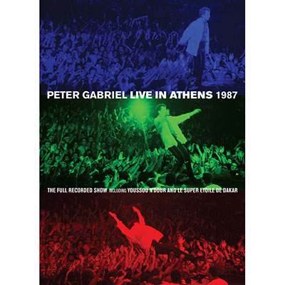 Live In Athens 1987 & Play (DVD/Blu-Ray) by Peter Gabriel