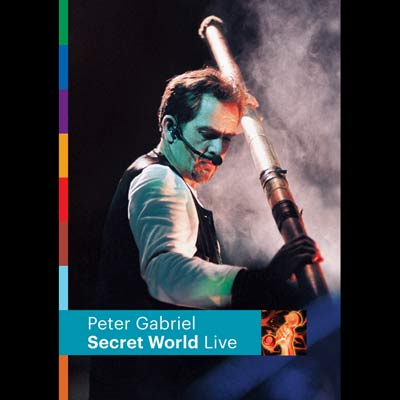 Secret World Live (DVD/Blu-ray) by Peter Gabriel