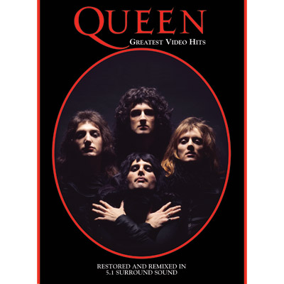 Greatest Video Hits (DVD) by Queen