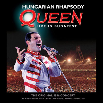 Hungarian Rhapsody: Live In Budapest (CD/DVD/Blu-ray) by Queen