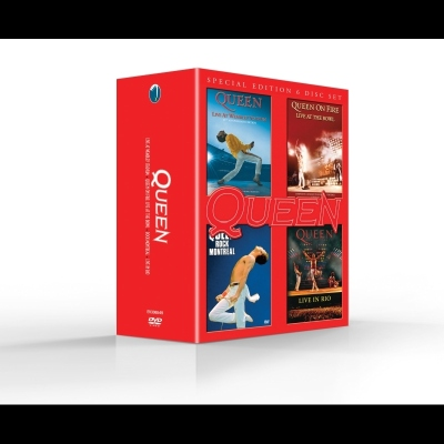 Live Special Edition 6 Disc Set (DVD/Blu-ray) by Queen