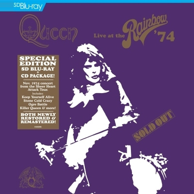 Live At The Rainbow '74 (DVD/Blu-ray) by Queen
