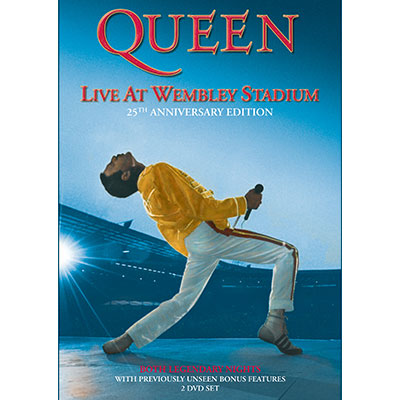 Live At Wembley: 25th Anniversary Edition (DVD) by Queen