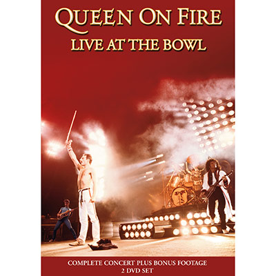 On Fire Live At The Bowl (DVD) by Queen