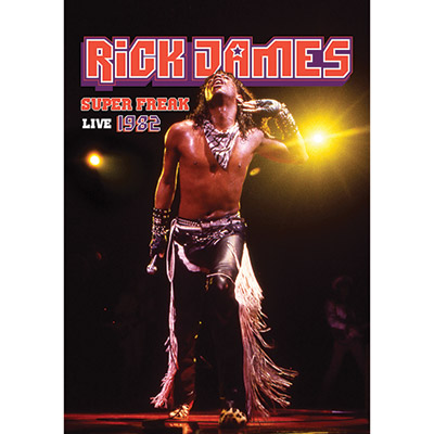 Super Freak Live 1982 (DVD) by Rick James